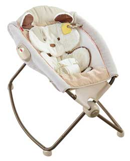 Fisher-Price Little Snugapuppy Deluxe Sleeper