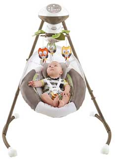 Fisher-Price My Little Snugabear Cradle N Swing