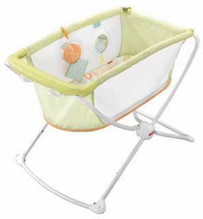Fisher-Price Rock n Play Portable Bassinet