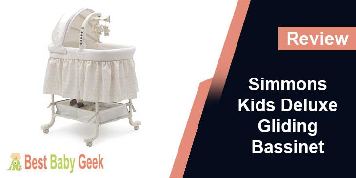 Simmons Kids Deluxe Gliding Bassinet Review